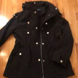 Black FRENCH CONNECTION coat